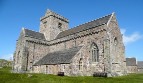 Iona Abbey, cradle of Christianity.
