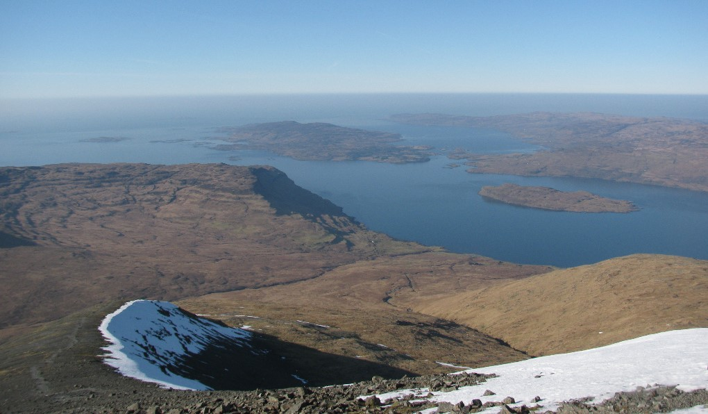 Views from the top of Ben More.