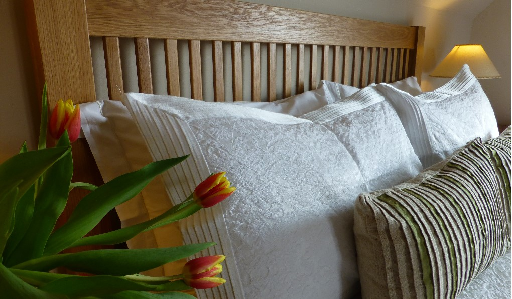 """""""Drimnin"""" bedroom with a king sized bed"""