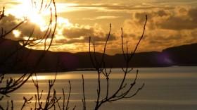 A golden sunset on Mull