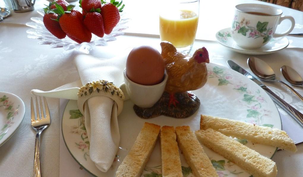 Cracking good breakfast!