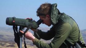 Ewan Miles award winning guide of Nature Scotland