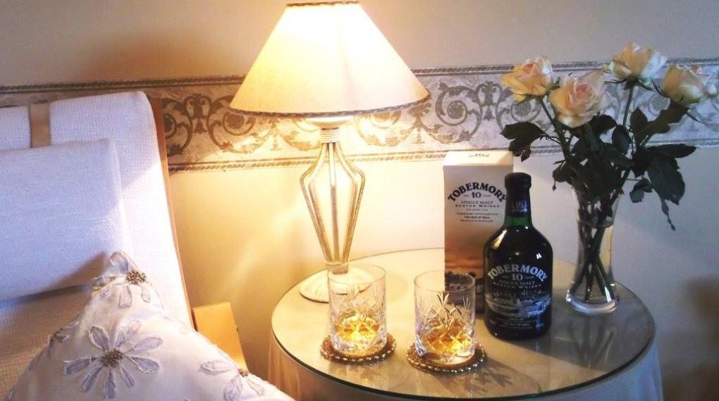 Visit the Tobermory distillery..
