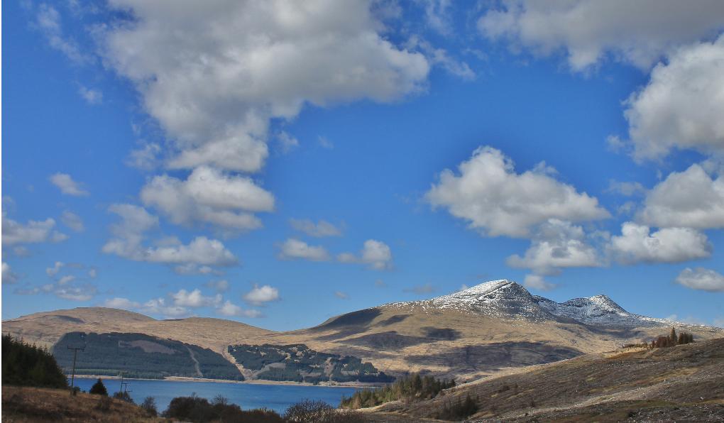 Isle of Mull mountain tops